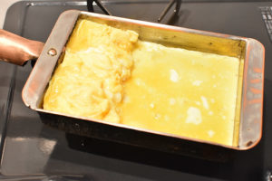 DSC 1853 300x200 - 【銅製卵焼き器で焼く】基本のだし巻き卵