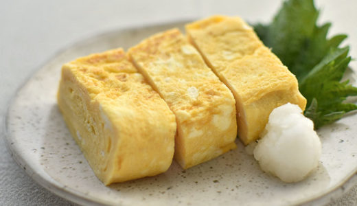 【銅製卵焼き器で焼く】基本のだし巻き卵