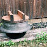 kamado 160x160 - 昆布茶だけ。白菜ときゅうりの浅漬け