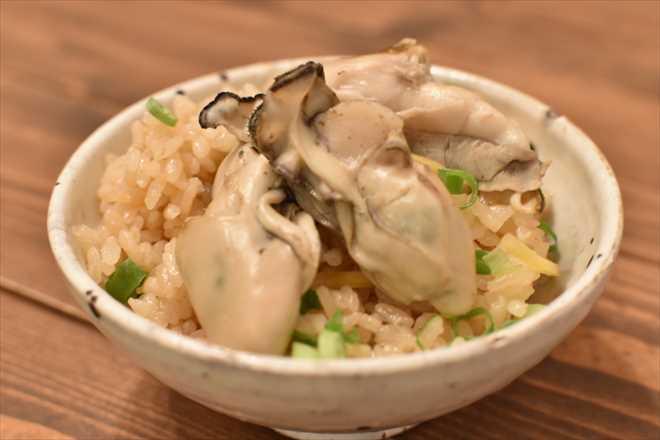 DSC 0757 R - 牡蠣の炊き込みご飯