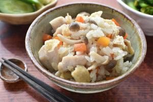 DSC 2187 300x200 - 牡蠣を縮ませない!『ふっくら牡蠣の炊き込みご飯』