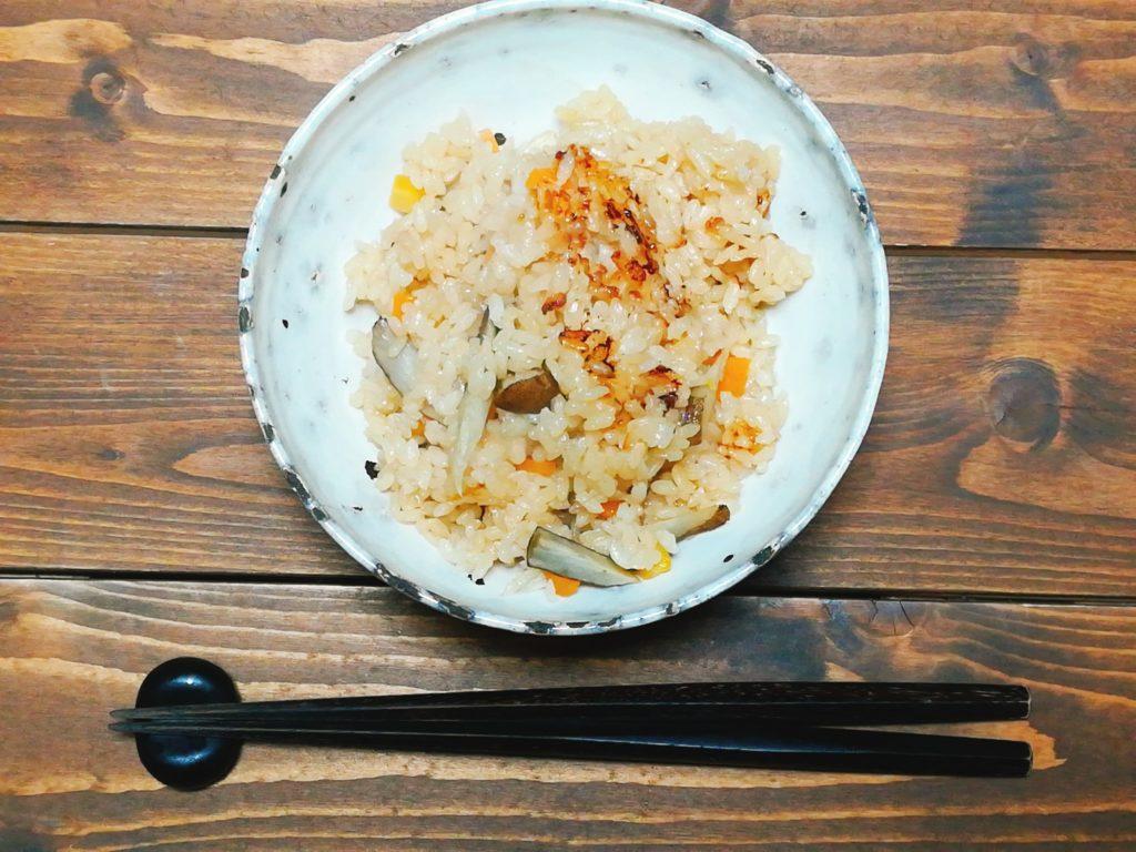 takikomi - 炊飯器で基本の炊き込みご飯
