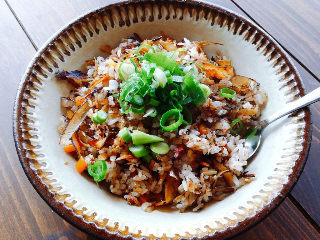 katuobusi tya han - 出汁ガラを活かして絶品かつお節チャーハン