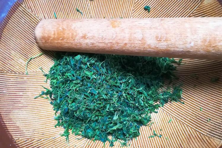 yomogi suribati - 【画像付きで詳しく解説】手作りよもぎ餅