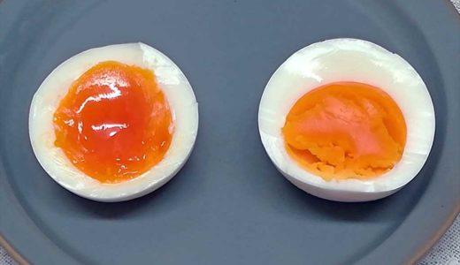 半熟派?完熟派?フライパンで思い通りのゆで卵