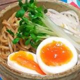 ガッツリ男麺!10分で『油そば』