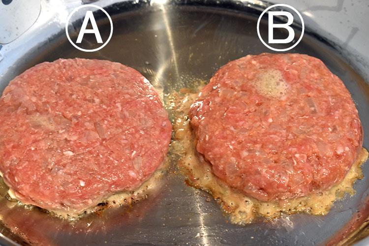 DSC 4456 - 卵をいれるタイミングが決め手!肉汁を完全に閉じ込めるハンバーグ