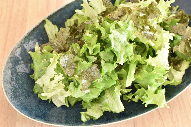 DSC 1910 - 【ねぎ塩だれ】グリーンリーフのチョレギサラダ