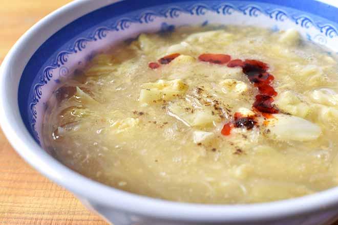 DSC 2456 - 春雨キャベツで 酸辣湯風スープ
