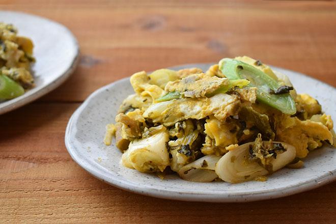 DSC 4008 - 【福岡・土産】 みやま市瀬高の「からし高菜」 は、やみつきになる美味しさ。