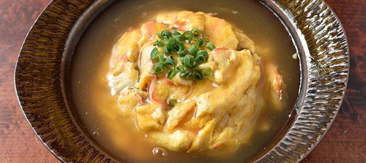 tensinhan - カニカマだけ。『塩ダレ天津飯』