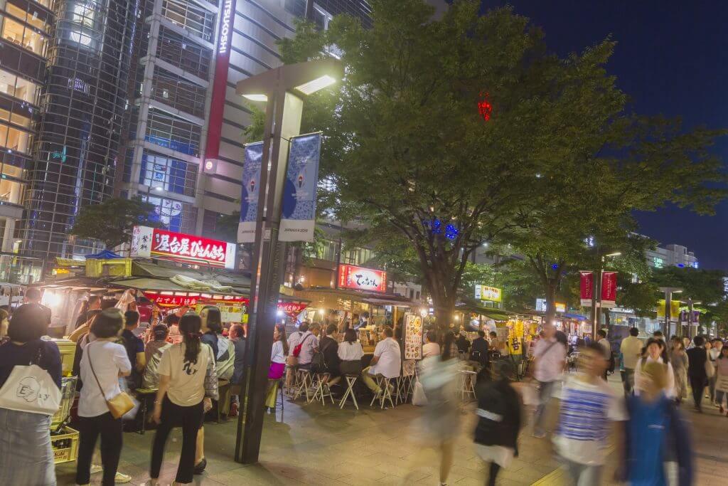 tenzin yatai - 福岡観光で屋台は必ず行きたい。中洲・天神・長浜の3エリアの場所と特徴について