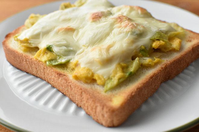 DSC 4154 - 玉子とレタスのチーズトースト