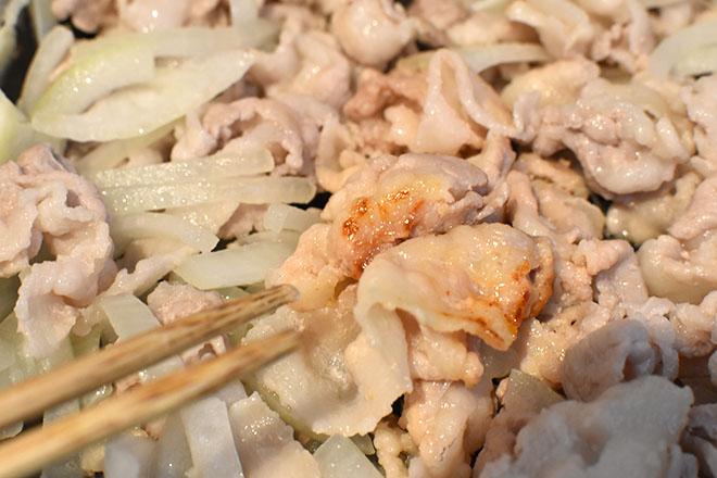 DSC 4505 - 大葉の香りと色を味わう 『豚肉の味噌炒め 』
