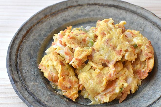 DSC 4653 - 【ねぎ塩だれ】卵と干しエビのねぎ塩炒め
