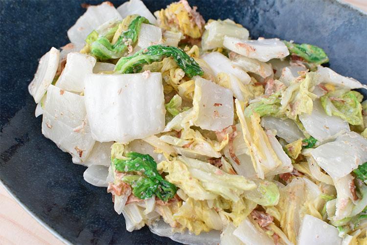 DSC 4774 - 【白菜だけ】和風コールスローサラダ