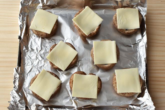 DSC 4878 - 【ワインに合う】しいたけのチーズ焼き