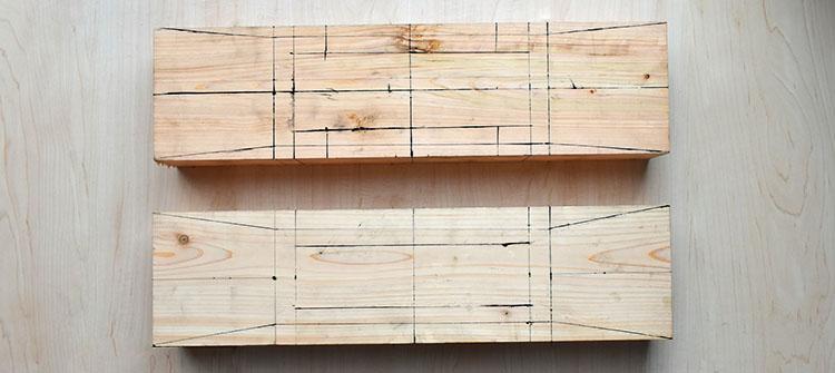 DSC 0007 - 教習③ 木材の基礎知識と曲尺を使った墨付け【四街道 サンデー木工倶楽部】
