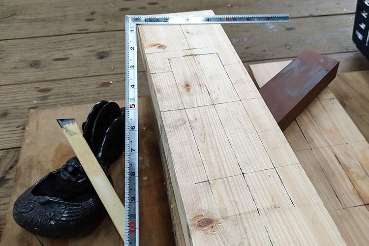 IMG 20200719 115048 - 教習③ 木材の基礎知識と曲尺を使った墨付け【四街道 サンデー木工倶楽部】