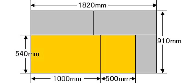 gouban2 - 【車中泊】収納も兼ねたベッドキットを12,756円で自作!