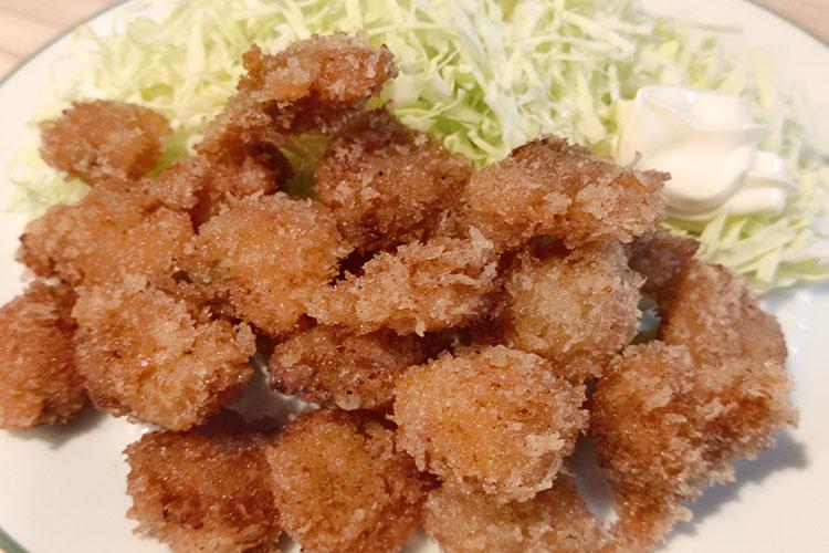 honbinosu - 旨味がギュッ!ホンビノス貝のフライ