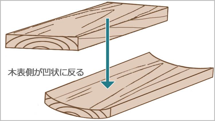kiomote sori model - 板目と柾目・元と末【木材の基礎知識】