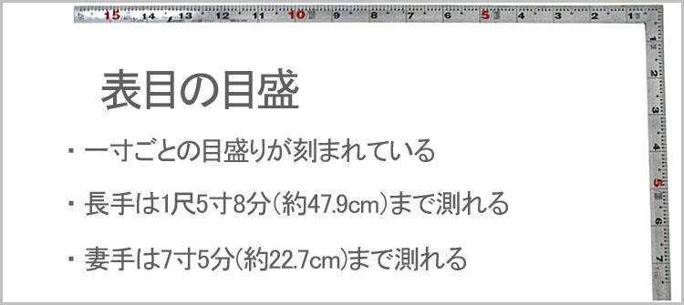 omotememori sasigane - サシガネについて
