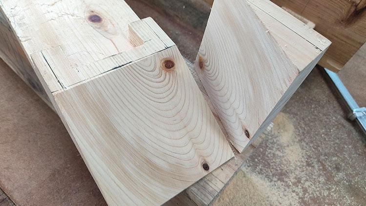 danmenjpg - 教習⑥ 斜めに切る・角を取る【四街道 サンデー木工倶楽部】