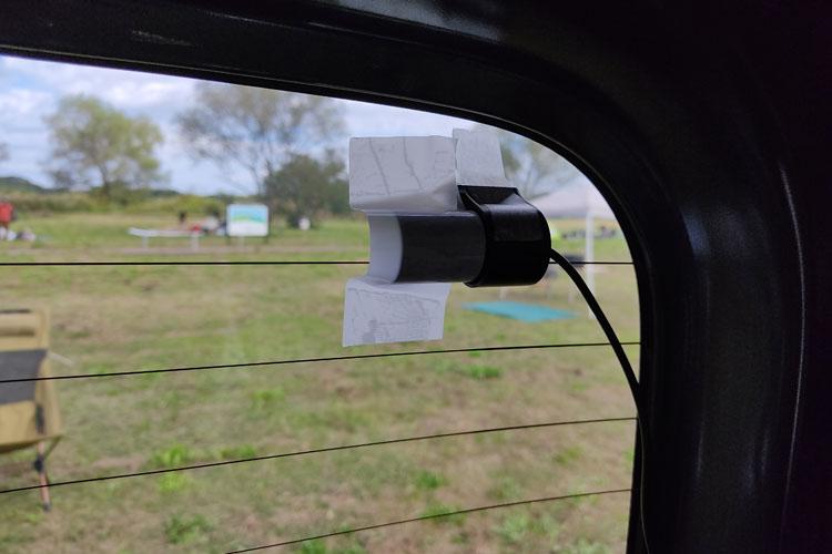 IMG 20201024 103114 - 前後カメラのドライブレコーダーを取り付け。配線の隠し方を詳しく紹介【エブリイバンDIY】