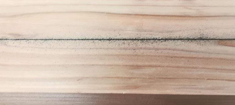IMG 20201115 1117289 - 「墨を打つ」墨壺を使って長い直線を引く方法