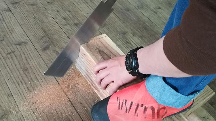 mIMG 20201101 133207 - 教習⑫ 作業台「馬」の制作 (前編)