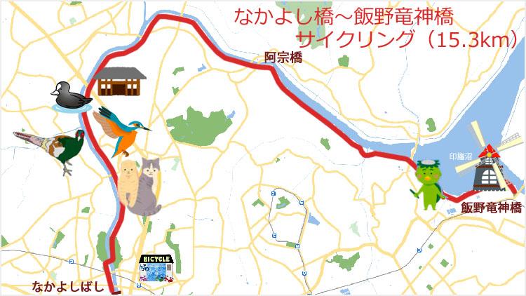 2f7b23a6d96c3c38db19c11f19481f66 - 小晦日。なかよし橋 ~ 佐倉ふるさと広場 まで自転車で走る!