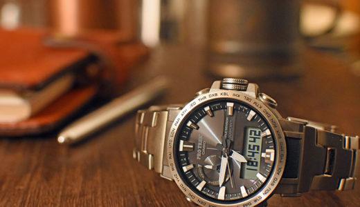 アウトドアだけじゃない!ビジネスにも使える腕時計 PRO TREK『PRW-60T-7AJF』