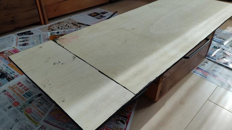 IMG 20201128 125132 - エブリイの天井に収納棚を自作!【エブリイバンDIY】