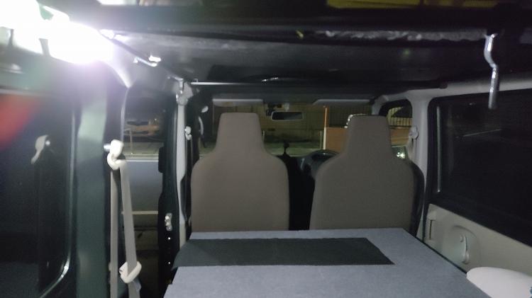 IMG 20201203 172513 - ルームランプ(室内灯)をLEDに交換。一晩つけっぱなしでもバッテリーはあがらない!