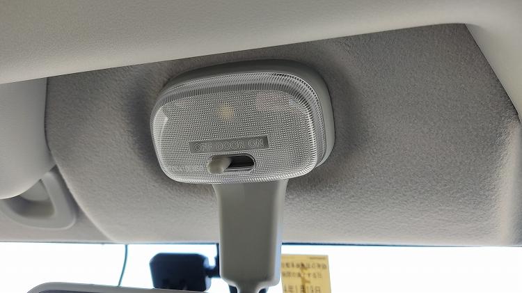 IMG 20201204 111708 - ルームランプ(室内灯)をLEDに交換。一晩つけっぱなしでもバッテリーはあがらない!