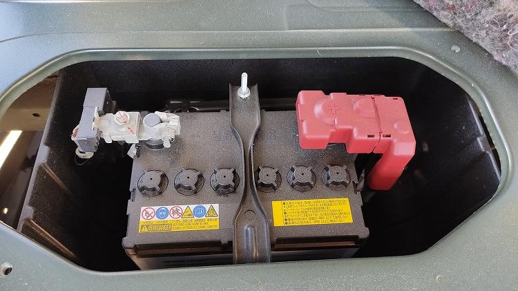IMG 20201204 112952 - ルームランプ(室内灯)をLEDに交換。一晩つけっぱなしでもバッテリーはあがらない!