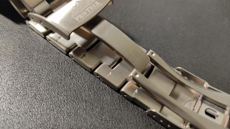 IMG 20201218 104308 - PRO TREKで実践。腕時計のベルト調整(メタルバンド)は簡単です。