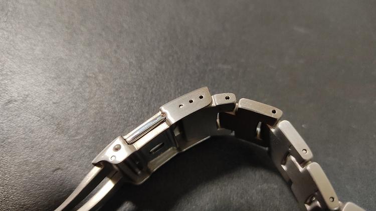 IMG 20201218 112923 - PRO TREKで実践。腕時計のベルト調整(メタルバンド)は簡単です。