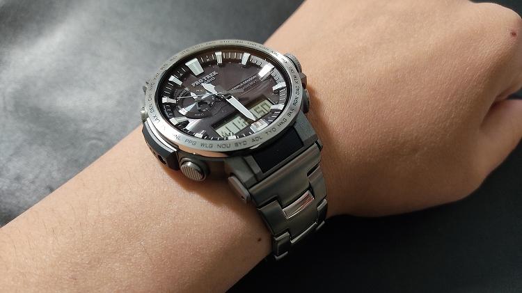 IMG 20201218 112950 - PRO TREKで実践。腕時計のベルト調整(メタルバンド)は簡単です。
