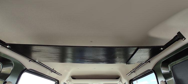 IMG 20210207 102644 - エブリイの天井に収納棚を自作!【エブリイバンDIY】
