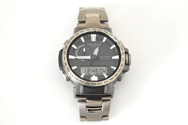 sDSC 0446 - アウトドアだけじゃない!ビジネスにも使える腕時計 PRO TREK『PRW-60T-7AJF』