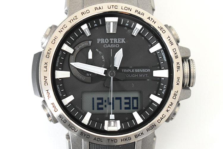 ssDSC 0450 - アウトドアだけじゃない!ビジネスにも使える腕時計 PRO TREK『PRW-60T-7AJF』