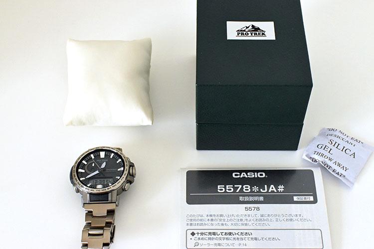 ssssDSC 0442 - アウトドアだけじゃない!ビジネスにも使える腕時計 PRO TREK『PRW-60T-7AJF』