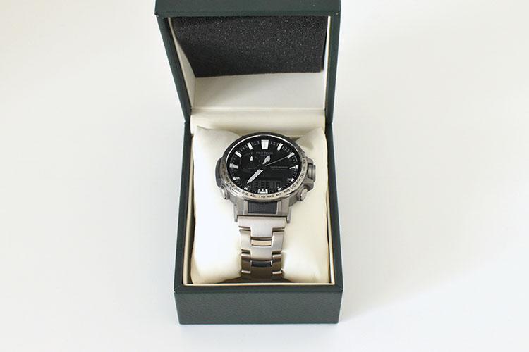 sssssDSC 0435 - アウトドアだけじゃない!ビジネスにも使える腕時計 PRO TREK『PRW-60T-7AJF』