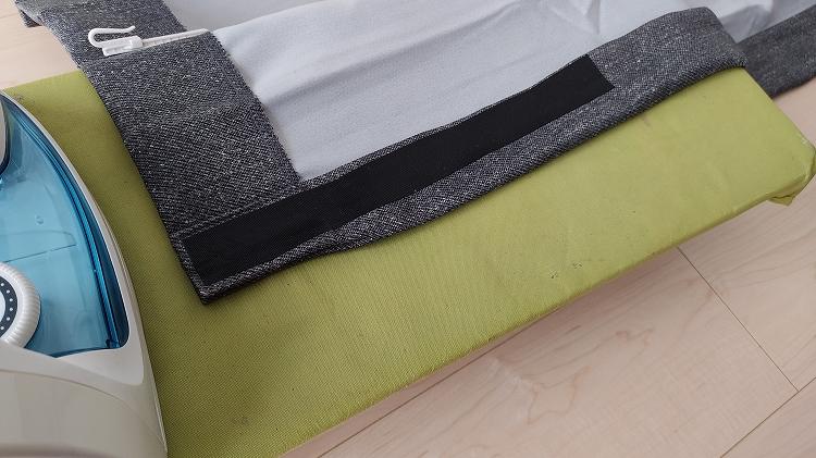 IMG 20201226 095043 - 【車中泊】簡単!工具を一切使わずにカーテンを吊るす方法【エブリイバンDIY】