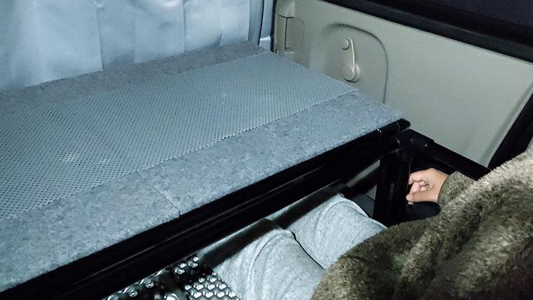 IMG 20201231 191432 - 【エブリィ ベッドキット】車中泊仕様からリビング仕様にチェンジ!