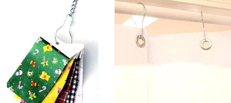 display hook - 【車中泊】簡単!工具を一切使わずにカーテンを吊るす方法