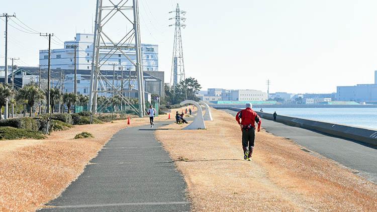 DSC 0597 - 富士山をうっすら鑑賞。茜浜緑地の散歩コース(茜浜緑道~茜浜運動公園)を紹介