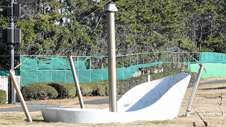 DSC 0648 - 富士山をうっすら鑑賞。茜浜緑地の散歩コース(茜浜緑道~茜浜運動公園)を紹介